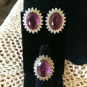 Jewelry - Ring and earring set